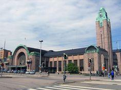 * Helsinki Railway Station * # Helsinque, Finlândia.