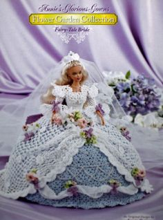 Annie's Glorious Gowns FAIRY TALE BRIDE  Crochet Pattern *  Barbie in Crafts, Needlecrafts & Yarn, Crocheting & Knitting, Patterns-Contemporary | eBay