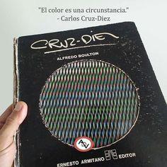 """""""El color es una circunstancia"""". - Carlos Cruz-Diez.  Felicitaciones a los que imprimen hacen las tintas cortan doblan encuadernan y a todos los que crean con su mística y pasión las maravillosas obras de arte que disfrutamos. Nuestro respeto y reconocimiento por su valiosa labor.  #DiaDelTrabajadorGrafico  #OpArt  #arte  #color  #espacio  #luz  #cromatico  #diseño  #frases  #art  #light  #book #cinetism #croma  #space  #design  #quotes  @algoritmove"""