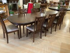 Chancellor Double Pedestal Dining Set - Amish Tables  - 1