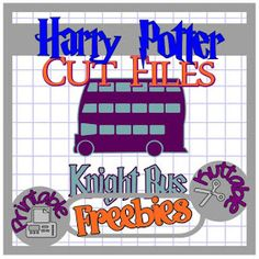 The Scrapoholic : 25 Days of HARRY POTTER Cut File Freebies! Day 07