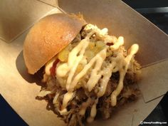The Kalua Pork Slider and Seven Tiki Mai Tai are back at the Hawai'i Booth for the 2013 Epcot Food and Wine Festival #DisneyWorld