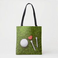 Golf bags of love totes bags - Thaninee Media Golf Travel Case, Travel Bag, Green Grass Background, Love Shape, Hole In One, Golf Ball, Yellow Flowers, Vacation Trips, Thank You Cards