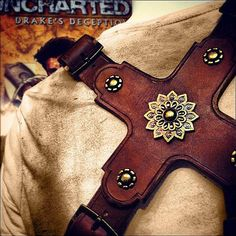 I'd want a holster like this, probably to hold bananas, but even so. It's from Uncharted's Nate Drake, by the way.