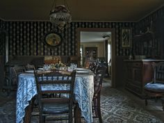 Victorian Dining Room No. 2 - Montana (by Daniel Hagerman)