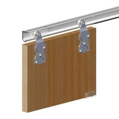 Rail Pour Porte Coulissante Porte Coulissante Pinterest Rail - Rails portes coulissantes suspendues