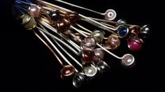 Pearl headpins, gorgeous Tophatter : Items For Sale