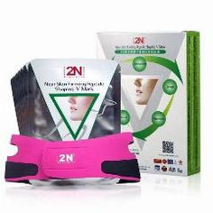 [ 26% OFF ] Skin Care 2N Face Lift Firming Face Care Mask 7Pcs With Bandage Belt Powerful V Line Slimming Product Lifting Shaping Whitening