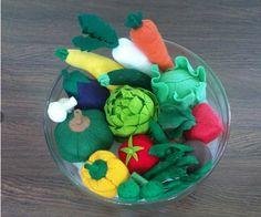 SALE - 19 Felt Vegetables Patterns LOT - PDF EBook | umecrafts - Handmade Supplies on ArtFire $20