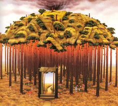 Mushroom King << Art of Jacek Yerka