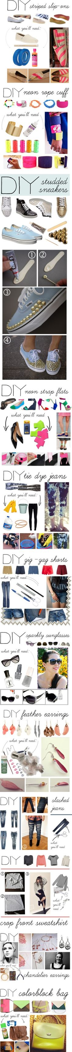 These ideas are so amazing, especially if you have a tween or teen who's really into fashion!