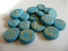 Faux Turquoise Beads by ketztx4me, via Flickr
