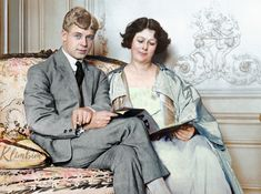 Sergei Yesenin and Isadora Duncan Russian Literature, Classic Literature, Irina Bokova, Russian Poets, Famous Dancers, Isadora Duncan, Colorized Photos, Writers And Poets, Modern Dance