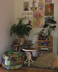Room Design Bedroom, Room Ideas Bedroom, Bedroom Inspo, Bedroom Decor, Decor Room, Fairy Bedroom, Men Bedroom, Indie Room Decor, Indie Living Room