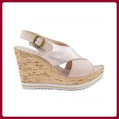 Benavente , Damen Sandalen, rosa - Rose - Größe: 39 - Sandalen für frauen (*Partner-Link)