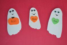 Boo Print Ghosts