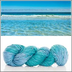 Expression Fiber Arts - CRYSTAL CLEAR WATERS BEADED SILK WORSTED , $44.77 (http://www.expressionfiberarts.com/products/crystal-clear-waters-beaded-silk-worsted.html)