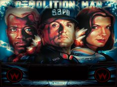 demolition man pinball machine - Google Search