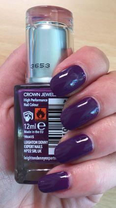 Leighton Denny nail polish, Crown Jewels