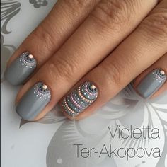 """2,074 Likes, 6 Comments - Лучшие идеи маникюра! 💅🏻 (@nails_page__) on Instagram: """"➡️ @violetta_ter"""""""