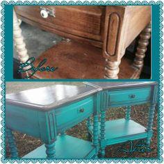Side Tables www.facebook.com/shabbyabbycreations