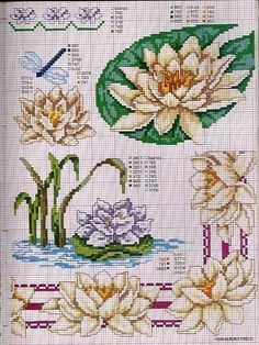 Cross-stitch Lily Pads...    Gallery.ru / Photo # 139 - 2 - irisha-ira