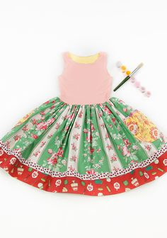 Matilda Jane Platinum - 34TH STREET BALLET TANK DRESS
