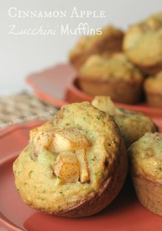Cinnamon Apple Zucchini Muffins Recipe