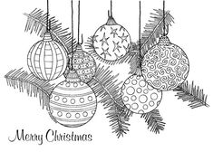 Customizable Christmas Ornaments 1 Holiday Greeting Card to Christmas Sketch, Christmas Doodles, Christmas Drawing, Christmas Coloring Pages, Colouring Pages, Coloring Sheets, Coloring Books, Christmas Colors, Christmas Art