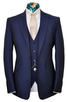 The Turner Navy from William Hunt Savile Row / Navy 3 Piece Suit / £795.00