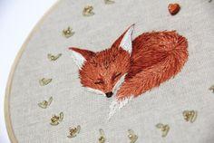 Sleeping fox by Avaril.deviantart.com on @DeviantArt