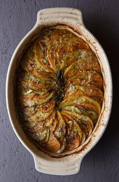 Root-a-touille~A Ratatouille made with Root Vegetables: Rutabaga, sweet potato, zucchini, red potatoes (use vegan parmesan) Healthy Recipes, Vegetable Recipes, Vegetarian Recipes, Cooking Recipes, Healthy Dinners, Healthy Tips, Fall Recipes, Healthy Foods, Vegetable Ratatouille