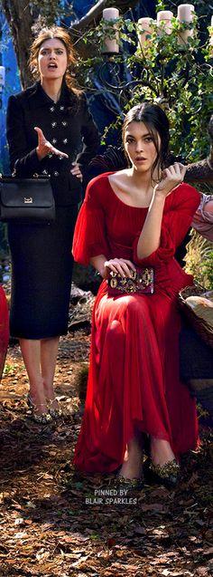 DOLCE AND GABBANA WINTER 2015 ♕♚εїз   BLAIR SPARKLES