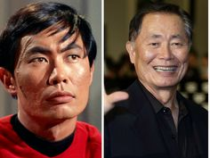 The Cast Of Star Trek Then & Now                    Hikaru Sulu – George Takei                     George Takei was not only in the original series of Star Trek but also in all 6 movies. The actor, author and activist has definitely been busy.