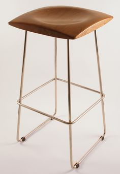 Woodturning projects | Alejandro Palandjoglou [Lovely shape to this seat]