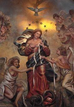 Oraciones Católicas Novena de la Virgen Desata Nudos