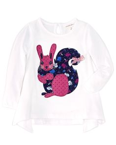 Spotted this Pumpkin Patch Girls' Floral Squirrel Top on Rue La La. Shop (quickly!).