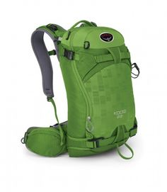 Radically redesigned for the 2014 snow season the Osprey Kode 32 now incorporates greater stability along with all-day comfort. The perfect pack should your day be in the Backcountry, or lift-assisted smaller trips.