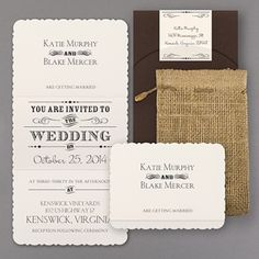 wedding invitations western style - Google Search
