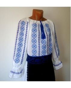 A ie traditionala IE Costume, Blouse, Sweaters, Tops, Women, Fashion, Tricot, Moda, Fashion Styles