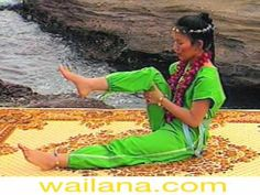 Knee rotation of Wai Lana