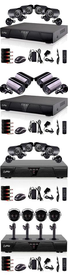 Other Home Surveillance: 4 Ch Full Hd D1 Recording Dvr Motion Detection Security System 800Tvl Waterproof BUY IT NOW ONLY: $71.36 Home Surveillance, Online Shopping Deals, Daily Deals, Consumer Electronics, D1, Cameras, Outdoor, Ebay