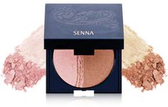 Senna Cosmetics Brilliant Bronze Baked Mineral Bronzer and Highlighter - Dawn Highlighter And Bronzer, Face Bronzer, Too Faced Bronzer, Cheek Makeup, Minerals, Blush, Cosmetics, Baking, Dawn