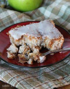 Apple Fritter Cake!!