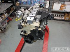 Check out a million-mile Cummins rebuild as we overhaul an engine, turbocharger, and injection pump to last forever. See how Industrial Injection rebuilds the Cummins in this month's issue of Diesel Power Magazine! Cummins Diesel Engines, Cummins Turbo Diesel, Dodge Cummins, Diesel Trucks, Dodge Diesel, Dodge Pickup, Powerstroke Diesel, Trucks Only, Cool Trucks