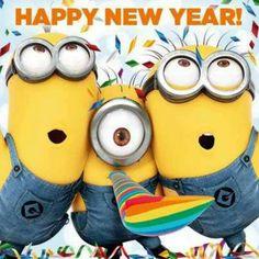 Happy New Year - Minions