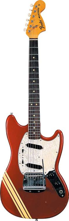 Fender Mustang Goodness. An overview on the history of the guitar.
