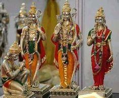 Ramar with Sita-Lakshmanar&Anjaneya Hanuman Pics, Shri Hanuman, Durga, Lord Sri Rama, Shri Ram Photo, Krishna Avatar, Rama Sita, Lord Rama Images, Ram Photos