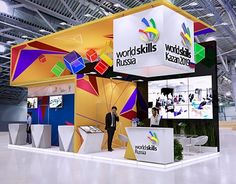 Exhibition stand on Behance Exhibition Stall, Exhibition Stand Design, Standing Signage, Street Marketing, Guerrilla Marketing, Expo Stand, Signage Display, Web Banner Design, Ads Creative