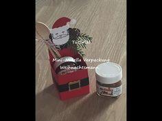 "Tutorial-Mini Nutella-Verpackung ""Weihnachtsmann"" | Melli's StempelParadies"
